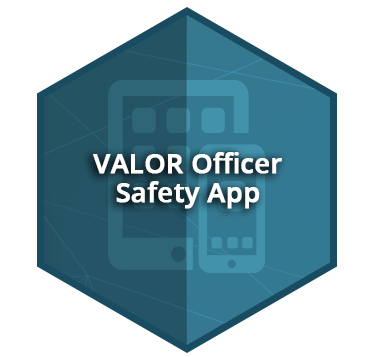 Valor Officer Safety App Graphic