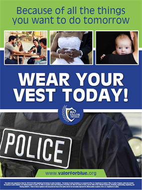 Image for Wear Your Vest Today Poster