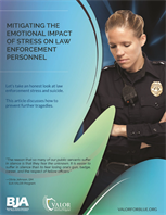 Image for Mitigating the Emotional Impact of Stress on Law Enforcement Personnel