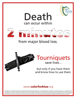 Image for Tourniquets Save Lives