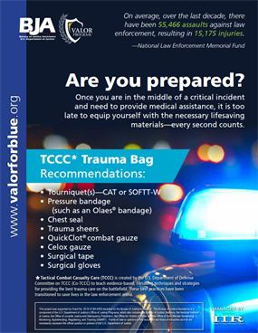 Image for TCCC Trauma Bag Recommendations