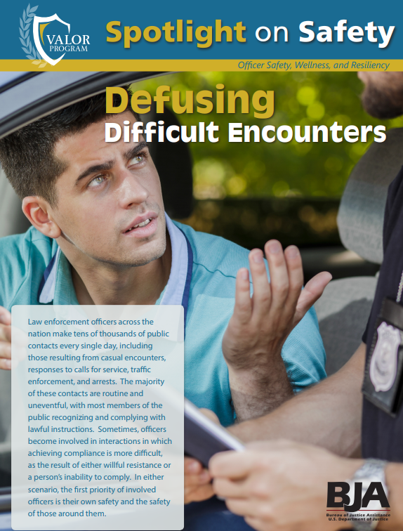Thumbnail of Defusing Difficult Encounters