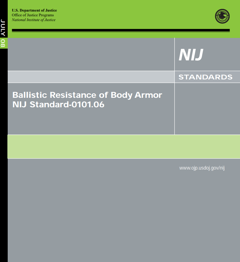 Printable Document about Body Armor and NIJ's Standards